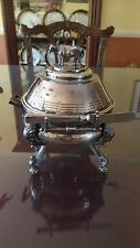 REED & BARTON SILVERPLATE BUTTER DISH FIGURAL COW W INSERT