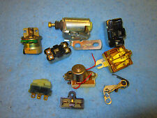 RELAYS Job Lot Horn Air Conditioning Caburetor Solenoid Ignition Wiper Relay SS