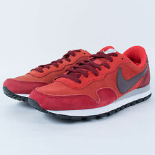 NIKE AIR PEGASUS 83 LTR RUNNING SHOES RED CLAY BURGUNDY 616324 601 SZ 8 DEFECTS