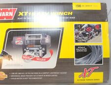 Warn 78500 XT15 ATV Winch 1500LB With Mechanical Brake Synthetic Rope 12 Volt
