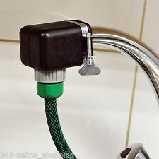 "HOSE CONNECTOR ADAPTER LARGE SQUARE MIXER KITCHEN BATHROOM TAP TO 1/2"" GARDEN"