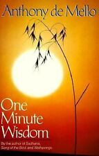 One Minute Wisdom Anthony De Mello Paperback