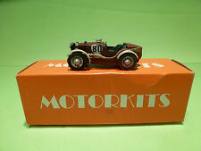 MOTORKITS  MG  M-TYPE    EXTREMELY RARE   - 1:43  - IN BOX  - GOOD CONDITION