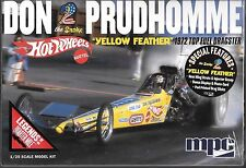 MPC, 1972 Don The Snake Prudhomme Yellow Feather Top Fuel Dragster 1/25 844 ST