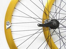 700c Origin 8 Coaster Brake Wheelset, Laced in the USA Gold