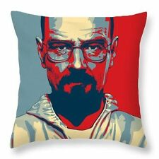BREAKING BAD WALTER WHITE TV PILLOW CASE CUSHION COVER HOME DECOR SOFA THROW