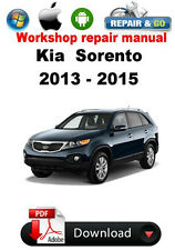 Kia Sorento 2013 - 2015 Factory Workshop Repair Manual