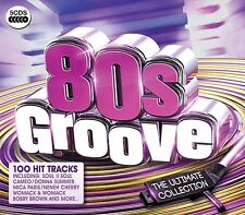 80S GROOVE-ULTIMATE COLLECTION (THE TEMPTATIONS, TALK TALK, BLONDIE) 5 CD NEU
