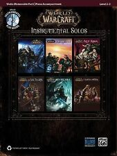 World of Warcraft Instrumental Solos for Strings: Violin (Book & CD) (Pop Instru