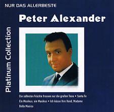 """PETER ALEXANDER """"Solo la Lo mejor"""" Platinum Editar. CD Flexmedia 2006"""