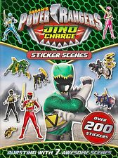 Saban's Power Rangers Dino Charge Sticker Scenes BRAND NEW BOOK (Paperback 2016)