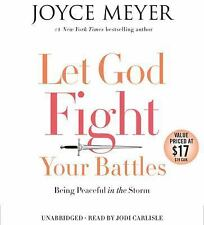 New Audio Book LET GOD FIGHT YOUR BATTLES Joyce Meyer Unabridged CDs