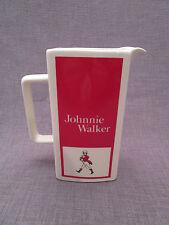 """pichet publicitaire ancien whisky""""JOHNNIE WALKER""""en faience anglaise"""