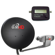 DISH Network 1000.2 HD Antenna Triple DPP LNB & Analog Satellite Finder Compass