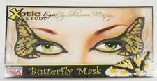 Sexy Costume Venture Monarch Butterfly Reusable Face Mask Make-Up Xotic Eyes Art