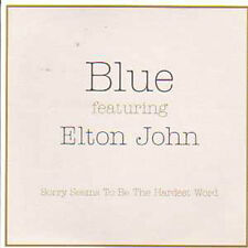 CD Single Blue & Elton John Sorry seems to be + PROMO +
