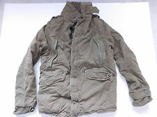 Abercrombie & Fitch Mens Olive Wilcox Fur Hooded Parka Jacket Coat SZ M~ NEW