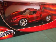 Hot Wheels Ferrari Enzo red chrome Whips edition 1:18 diecast