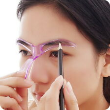 Professional Eyebrow Template Stencil Grooming Shaping Tool Beauty Makeup