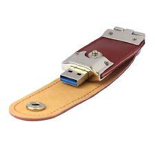 32GB USB Stick 3.0 Speicherstick Flash Drive Leder DE