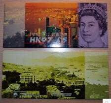 England 1997 Hong Kong Commemorative 5 Pounds Prefix HK97 With Folder (UNC)