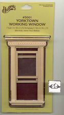Window - Yorktown  working 1/12 scale dollhouse miniature Houseworks 5001 wooden