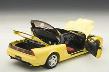 Autoart HONDA NSX TYPE R INDY YELLOW PEARL 1992 1/18 Scale. New! In Stock!