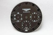 Longines Black Automatic Chronograph Wristwatch Dial - 29mm NOS