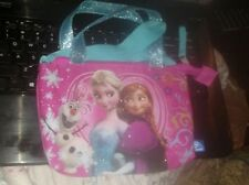 NWT Frozen Elsa & Anna Purse bag short & cross body strap
