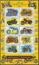 2002 FRANCE BLOC N°51**  MOTOS / MOTORCYCLES SHEET SC 2913 MNH