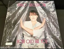 """Italo Miko Mission: How old are you (12""""maxi) 1984 zyx 5145"""