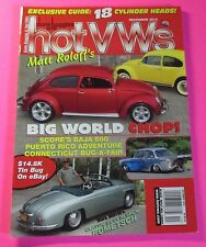 DUNE BUGGIES AND HOT VWs MAGAZINE DEC/2010...EXCLUSIVE GUIDE: 18 CYLINDER HEADS