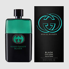 GUCCI GUILTY BLACK 90ML EDT EAU DE TOILETTE SPRAY FOR MEN POUR HOMME BNIB SEALED