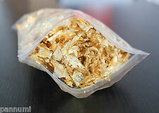 5 Grams Gold Leave Flakes *Beautiful Huge Flakes*