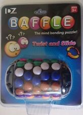 Baffle 3D Brain Teaser Puzzle Mind Bending Button Twist & Slide Toy Logic Game