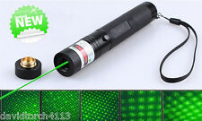 10 Mile JD 303 Green Laser Pointer 1mW 532nm 18650 Rechargeable Security Key