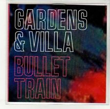 (EN563) Gardens & Villa, Bullet Train - 2014 DJ CD