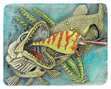 Catch & Release Fly Fishing buckle Lunker FRESH WATER FISH SPORT Rod Reel Bait