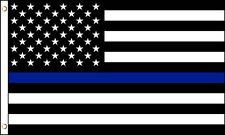 3' x 5' American Subdued Thin Blue Line Poly Flag Police Law Enforcement Sheriff