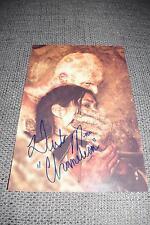 """Derek Mears signed autographe sur 20x30 CM """"the Hills Have Eyes"""" photo inperson"""