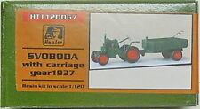 Traktor Svoboda mit Anhänger 1937, Hauler, 1/120, TT, Resin , Ätzteile NEU