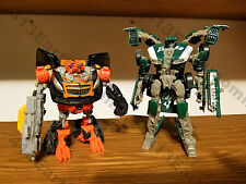 """Transformers Dark of the Moon (DOTM) Deluxe Class """"Roadbuster and Mudflap"""""""