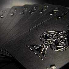 Impressions Black Stealth Limited Custom Poker Playing Cards Professional %