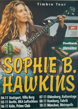 SOPHIE B HAWKINS CONCERT POSTER 1999 TIMBRE