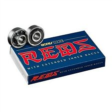 Bones Reds Race Bearings Black Silver