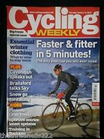 CYCLING WEEKLY - SNOW GO FOR RACING - JAN 14 2010