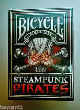 Steampunk Pirates *BLACK FLAG EDITION* 500 LIMITED* Playing Cards