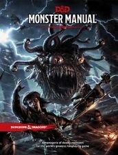 Dungeons and Dragons RPG 5th edition Monster Manual (D&D 5e product)