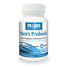 Men's Probiotic - Daily Supplement for Men's Digestive, Colon, and Gut Health.