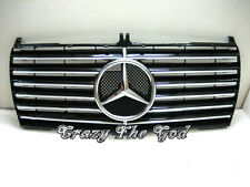W124 1985-1993 Pre-Facelift GRILLE/GRILL INNER 13MD SPORT CH/BLACK Mercedes-Benz